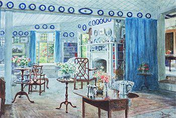 Interior of a Fendalton Homestead
