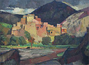 Moroccan Hill Village