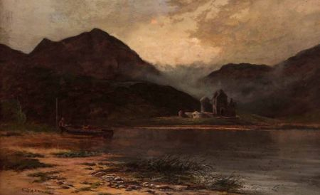 Thought to be Kilchurn Castle, Loch Awe, Scotland