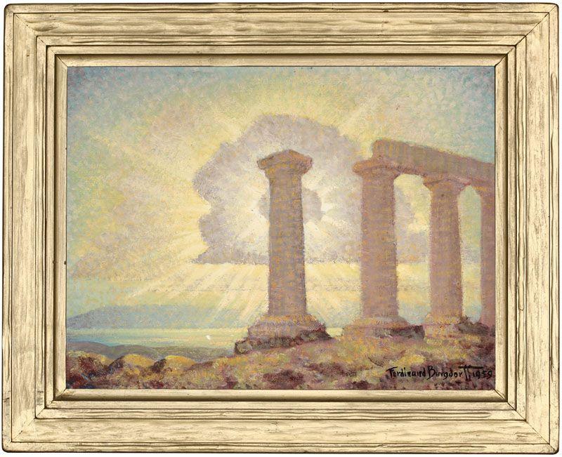 Temple to Athena, Corinth, Greece