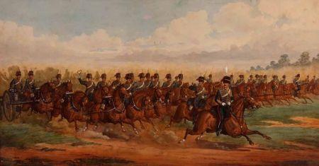 Royal Horse Artillery on Manoeuvre