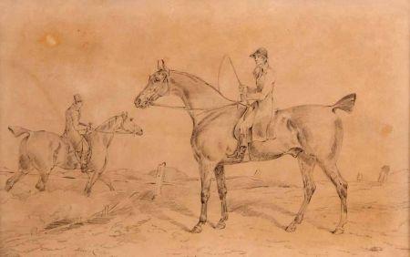 Huntsmen on Horseback