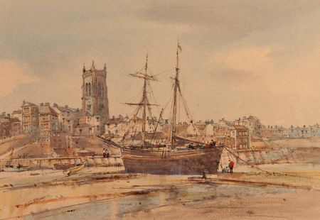 The Last Collier Brig at Cromer