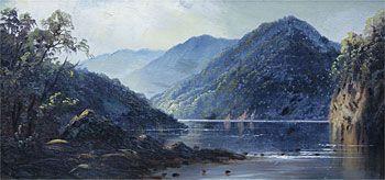 A View of the Wanganui River