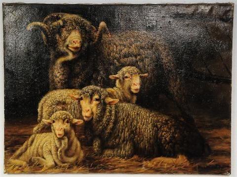Ram with Sheep