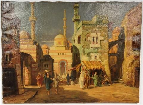 Moroccan Scene