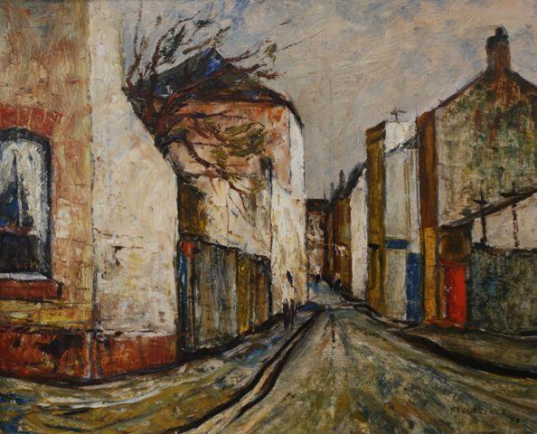 Little Riley Street, Surry Hills 1959