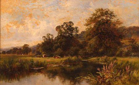 On The River Rathen, Fittleworth, Sussex