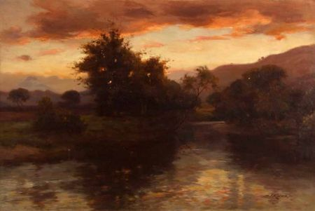 In The Gloaming On The Forth, Aberfoyle
