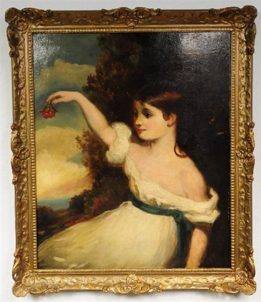 Seated Girl with Cherries