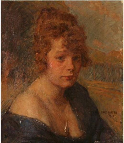 Portrait of Nanny Vaslev (1897-1944)