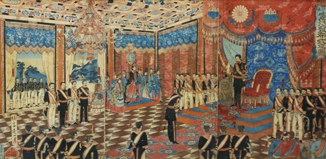 The Promulgation of the Japanese Constitution 1889