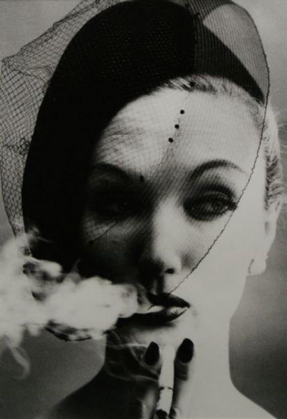 Smoke and Veil, Paris (Vogue) 1958