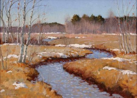 Russian/Estonian River Landscape