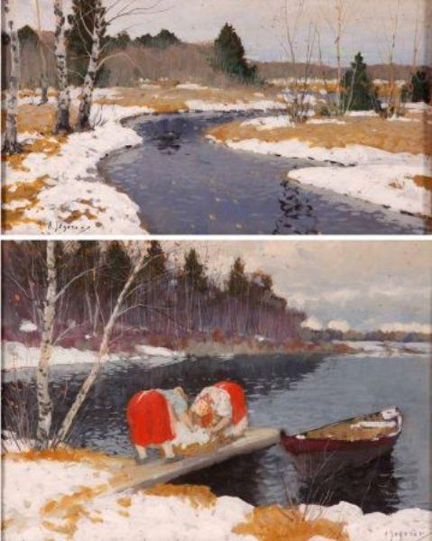 Russian/Estonian River Landscapes