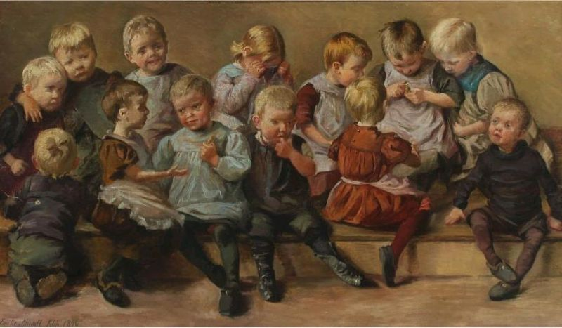 Children from a fosterhome