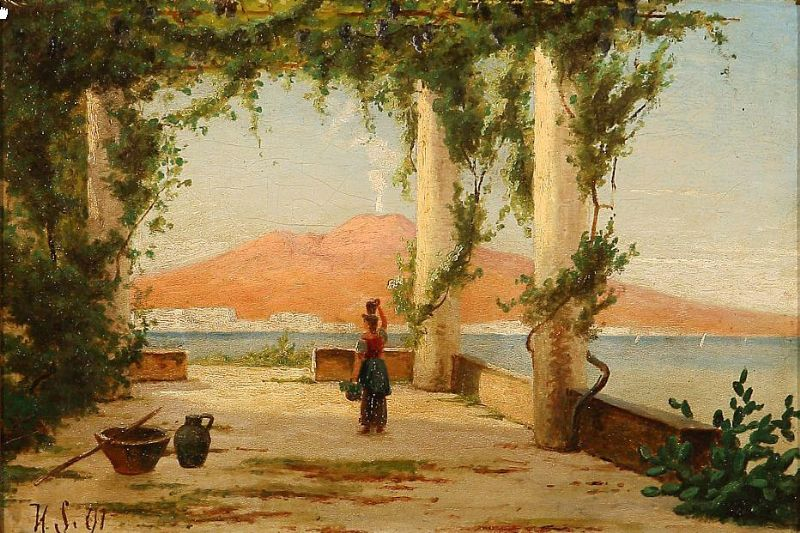 En Loggia ved Neapel