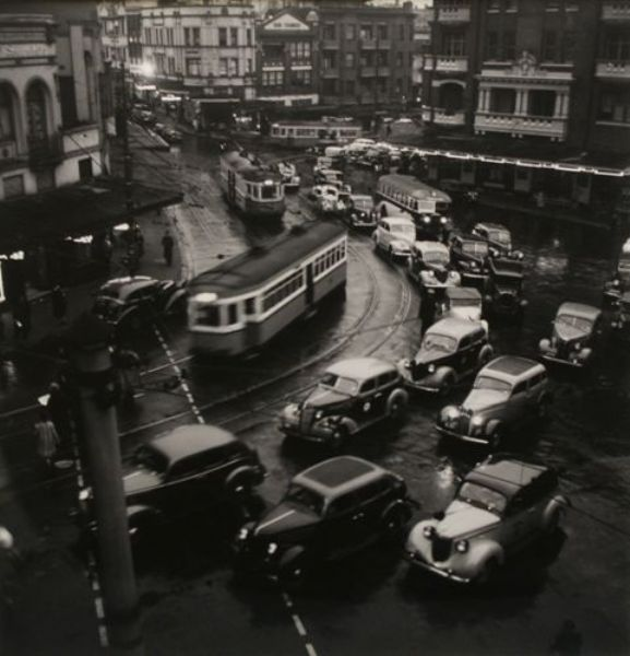 Twilight Rush Hour Kings Cross 1938