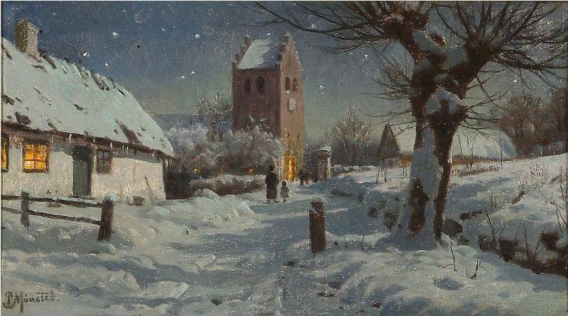Church visits at Christmas time