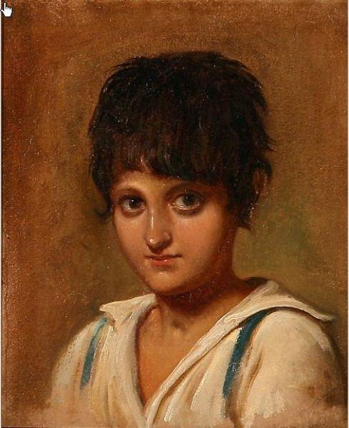 Portrait of an Italian boy