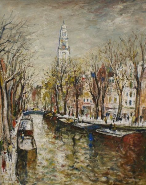 The Westerkerk, Amsterdam 1969