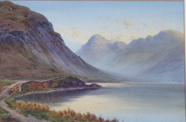 A mountainous lakeland