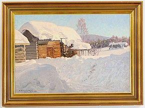 Motiv från Älvdalen Dalarne