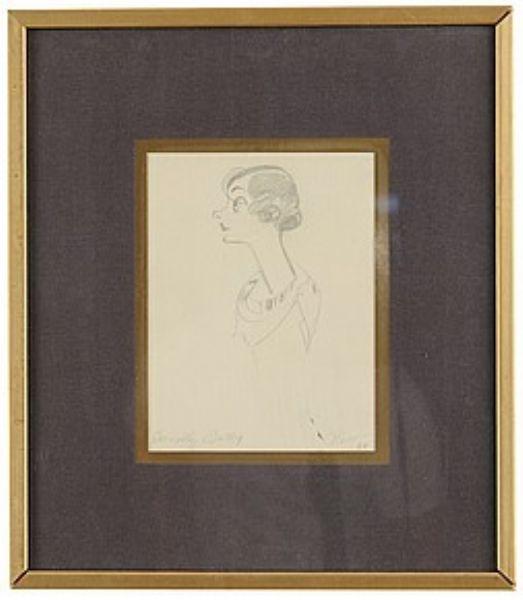 Porträtt av Dorothy Batly