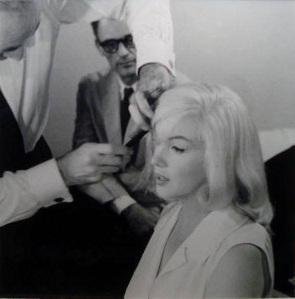 Marilyn Monroe and Arthur Miller - The Misfits