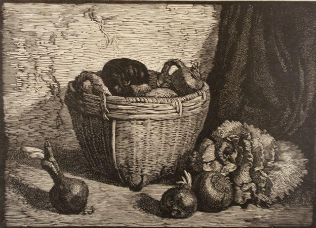 Onions in Basket.