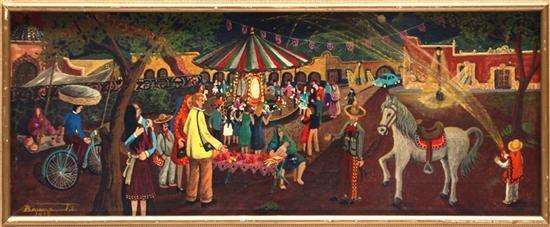 Fiesta pueblerina