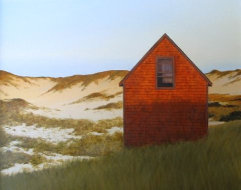 Untitled Red Shack