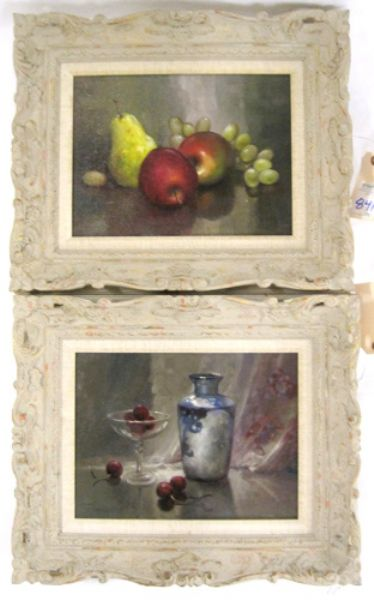 Still-lifes with fruit