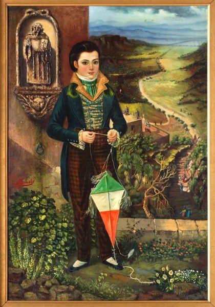 Infante con papalote