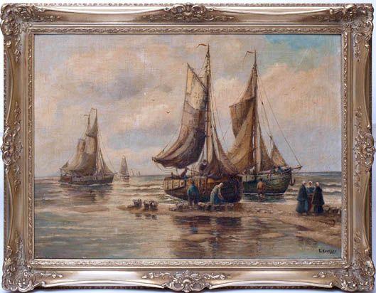 Morgenstimmung an der Nordsee
