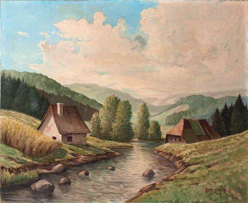 Sommerliche Partie in einem Schwarzwaldtal