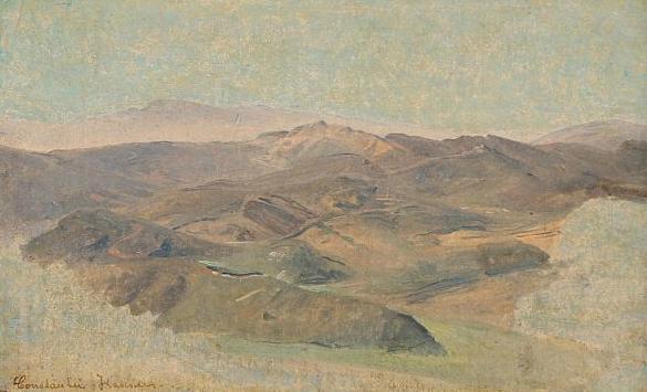 Landscape study, presumably from Italy