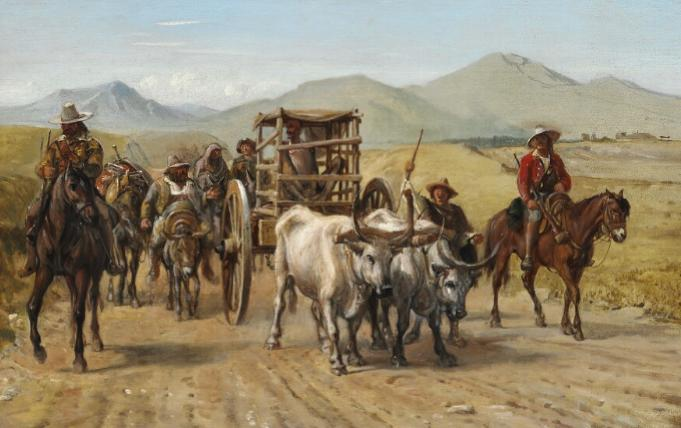 Don Quixote returning home from his second expedition