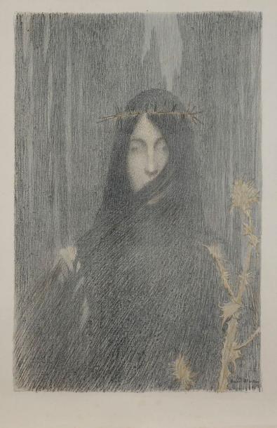 Tête de femme, ou Femme couronnée d'épines