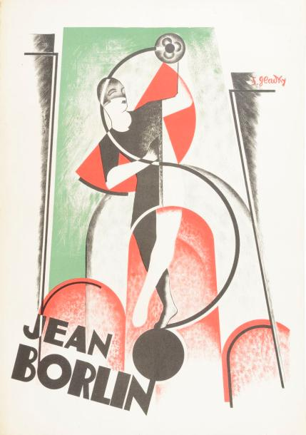 Jean Borlin. Affiche