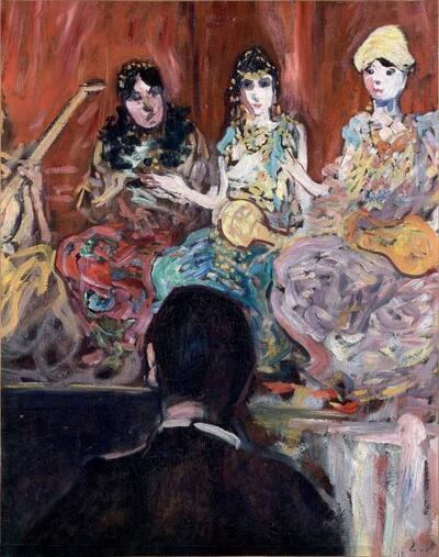 L'orchestre à la fête foraine
