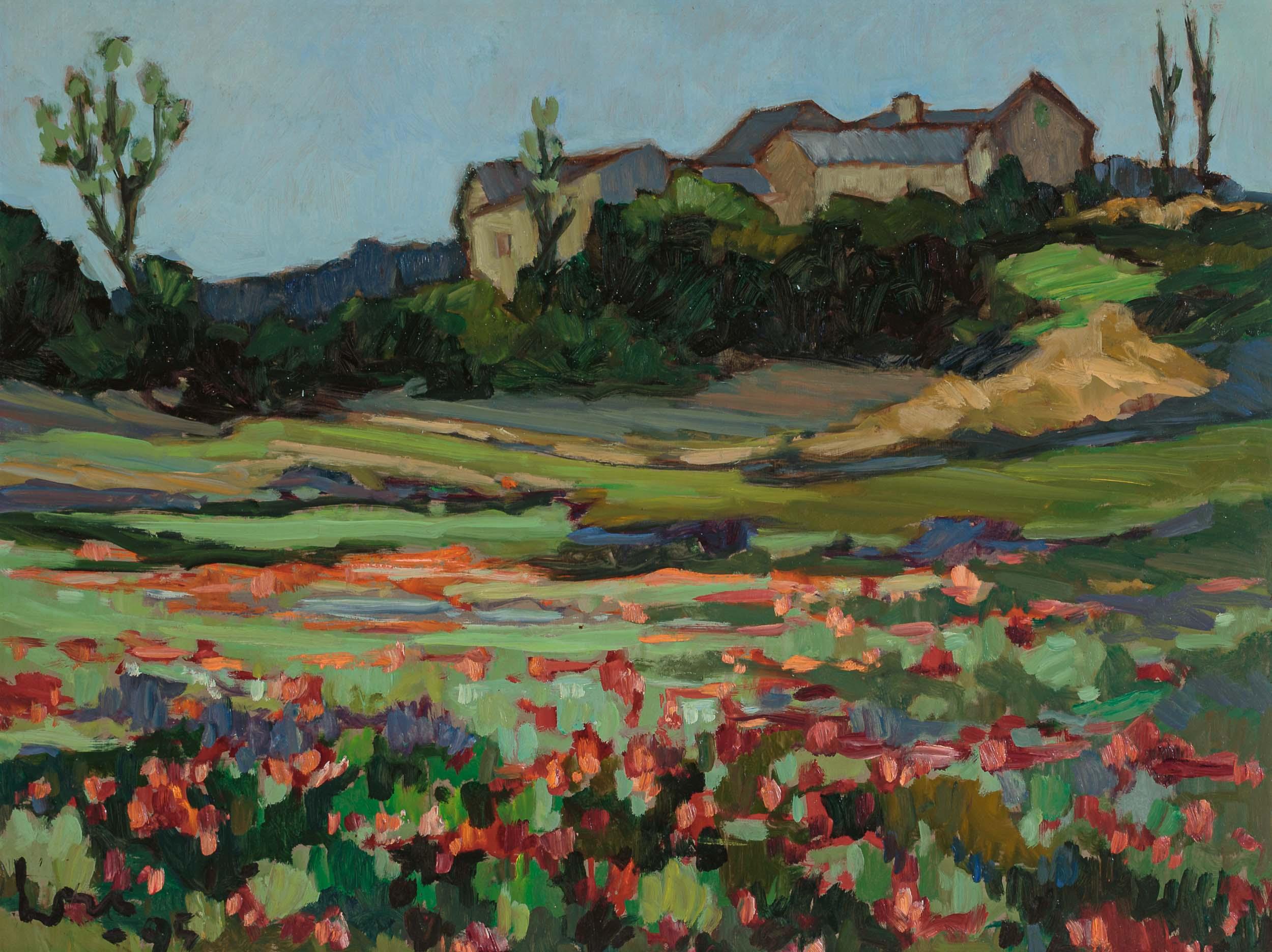 'Klaprozenveld in Rouveret' (Poppy field in Rouveret)