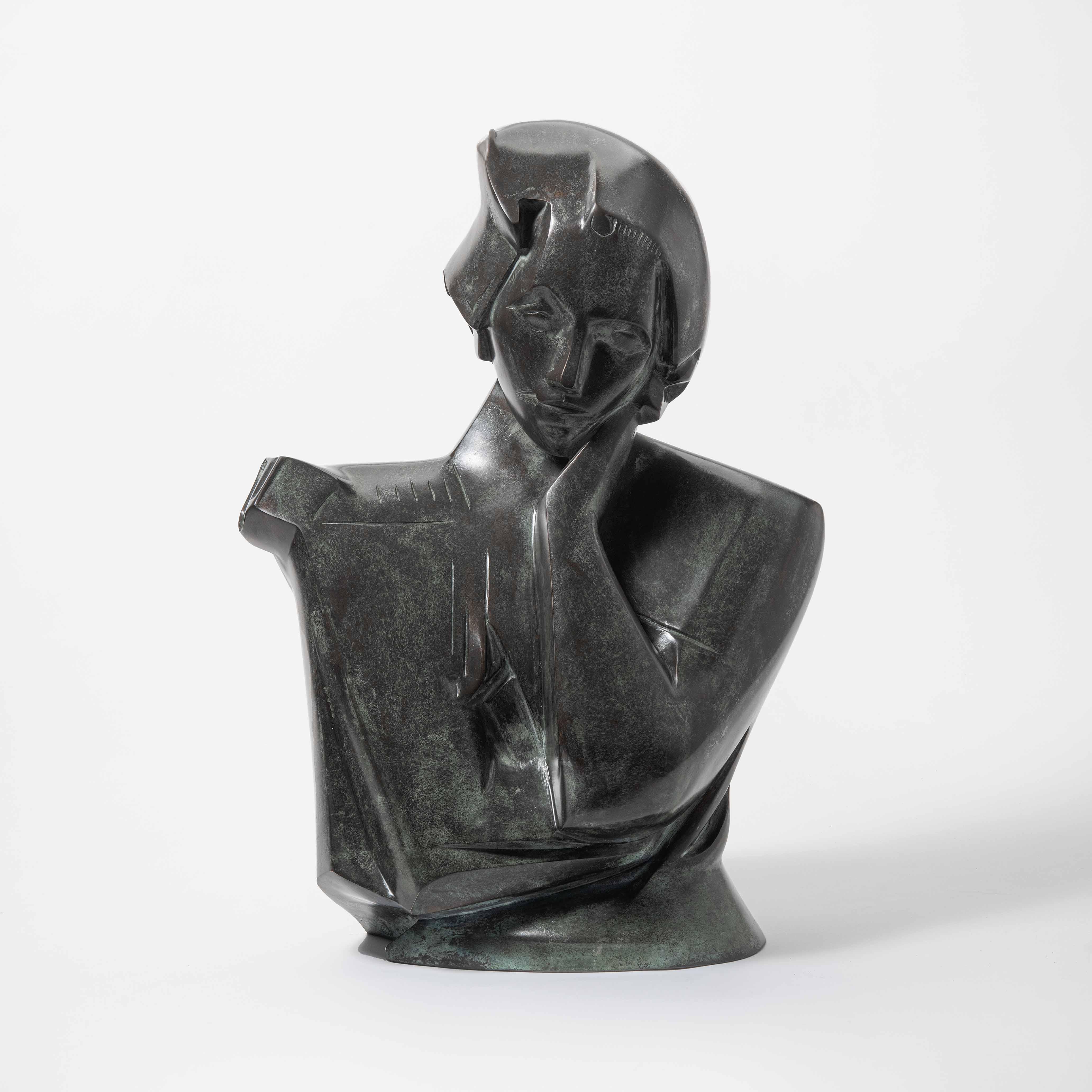 Femie Leunend op Elleboog (Femie Leaning on Elbow) (1929)